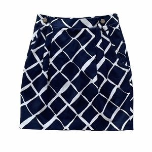 Club Monaco Nautical Navy Mini Skirt